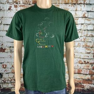 Mickey Mouse Embroidered Unlimited Disney T Shirt